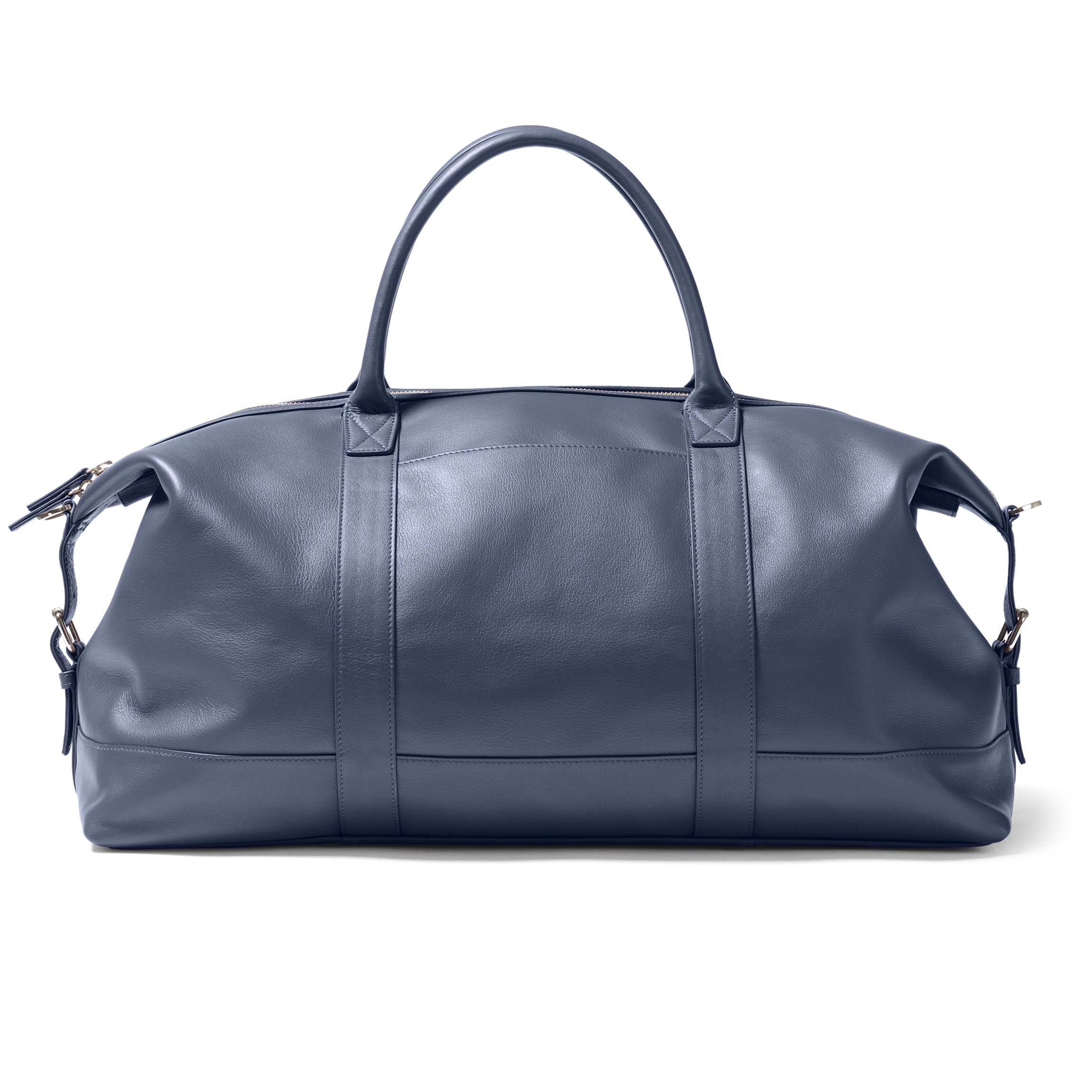 Kessler Medium Duffle - Full Grain Leather Leather - Navy (blue) by Leatherology (Image #1)