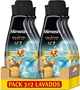 Mimosín Collection Parfum Suavizante Nº 7, 52 Lavados 870 ml - Pack de 6