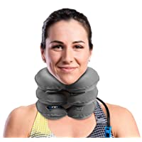 Cervical Neck Traction Device and Collar Brace by BRANFIT, Inflatable and Adjustable...