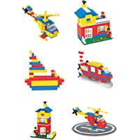 toyztrend Expert Building Blocks for Kids, 200 Pieces Blocks. let Your Kid Make Everything he/she Dreams of. Improves Logical Thinking and Cognitive Skills of Kids