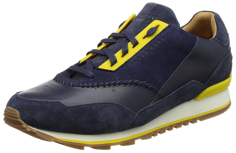 Boss Orange Zephir_Runn_ltdc, Zapatillas para Hombre 46 EU|Azul (Dark Blue 401)