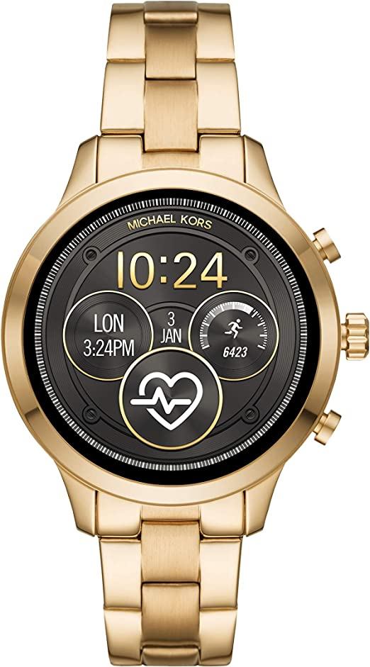 Michael Kors Smartwatch para Mujer con tecnología Wear OS de Google, altavoz, frecuencia cardíaca, GPS, NFC y notificaciones smartwatch: Amazon.es: Relojes