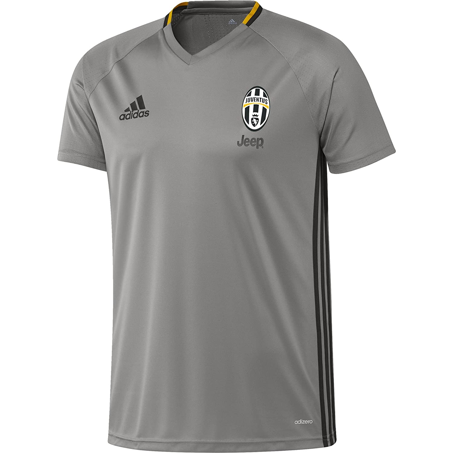 2016-2017 Juventus Adidas Training Shirt (Grey) B01I1C6642Grey Small 36-38\