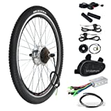 "Voilamart 36V 250W 26"" Rear Wheel Electric Bicycle Conversion Motor Kit E-bike Cycling Hub with Brushless Geared Hub Motor"