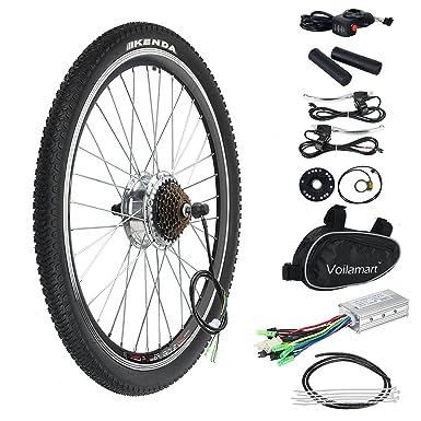 Voilamart 36v 250w 26 Rear Wheel Electric Bicycle Conversion Motor Kit E Bike Cycling