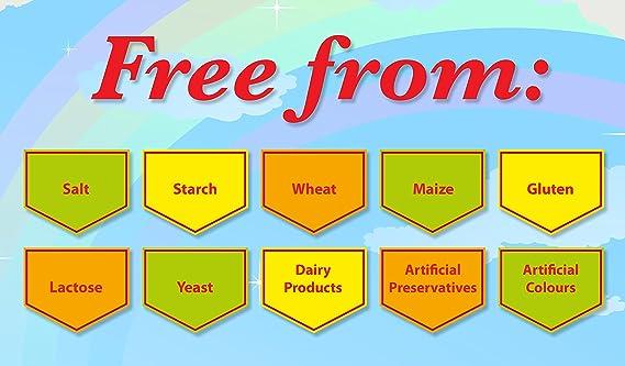 Zestlife Multi vitaminas para niños 90 gomitas: Amazon.es: Salud y cuidado personal