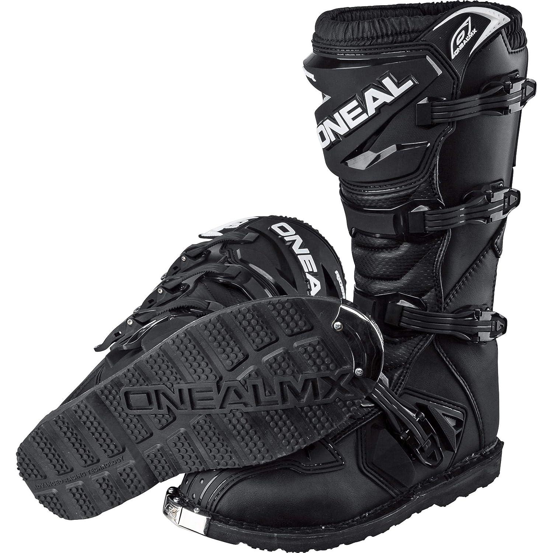 bordi elastici cotone 39 nero O  Neal Rider Mx Motocross Supermoto Moto Stivali Neri 2015-100-per cento