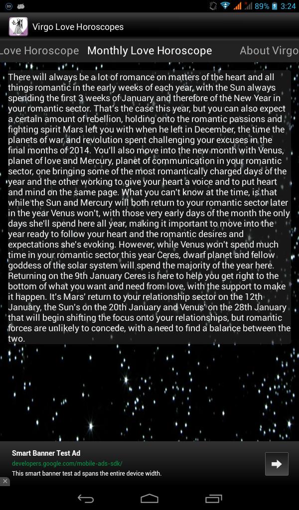 Virgo Romance Horoscope