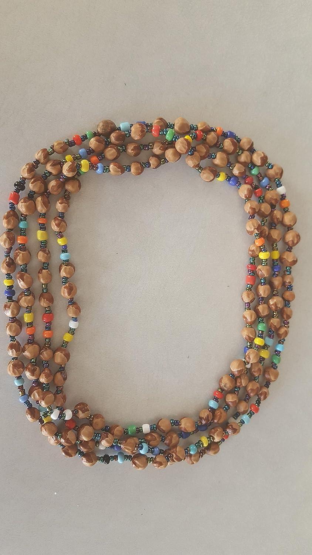 Navajo Ghost Cedar Beads Juniper Berry Red Adventurine Nugget Bracelet Roseanne