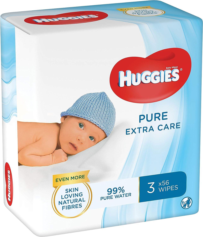 Huggies Pure Extra Care Toallitas para Bebé - 1 caja con 4 ...