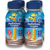 PediaSure Complete, Nutritional Supplement, 4 x 235 mL, Chocolate - Kids nutritional shake, containing DHA and vitamins…