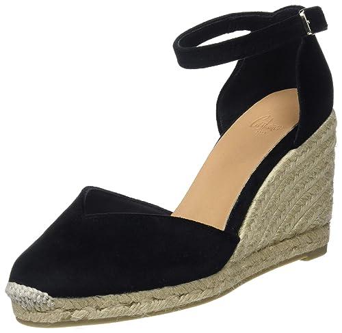 Castañer Ceres/8/Fw18004, Alpargatas para Mujer, (Negro 100), 36 EU: Amazon.es: Zapatos y complementos