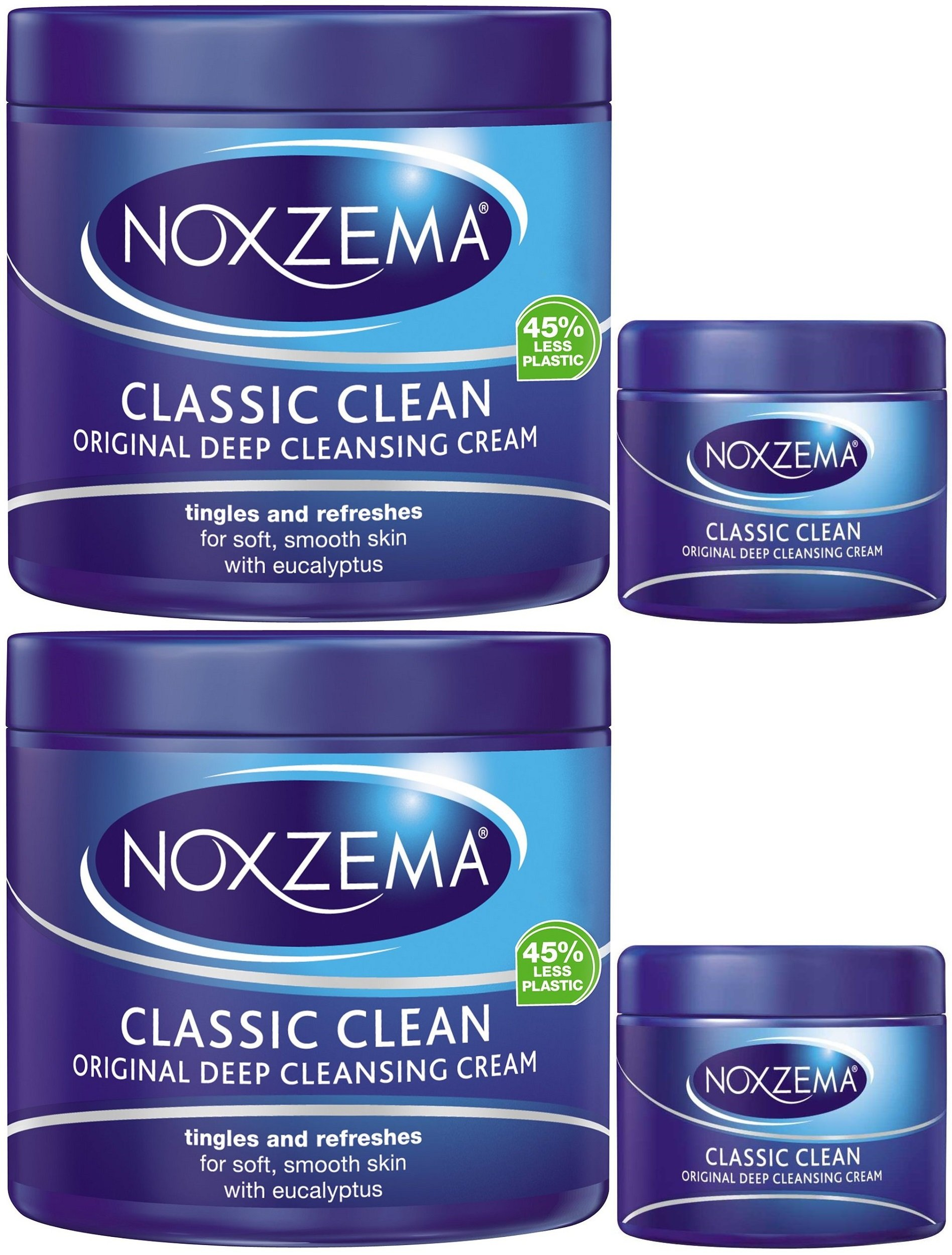 how to use noxzema classic clean