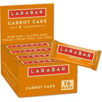 Deals on 16-Pk Larabar, Fruit & Nut Bar, Carrot Cake, Gluten Free, 1.6 oz