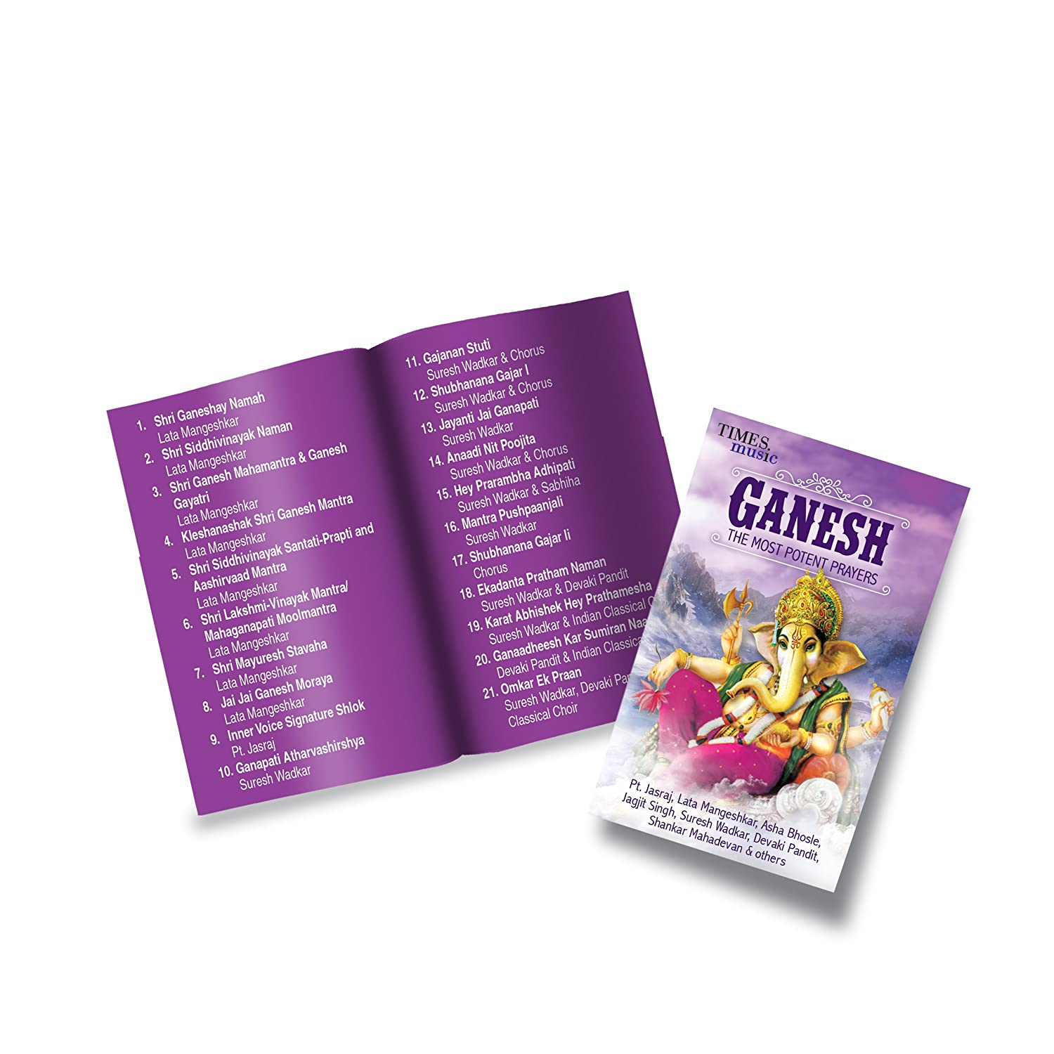 Music Card: Ganesh - 320 kbps MP3 Audio (4 GB)