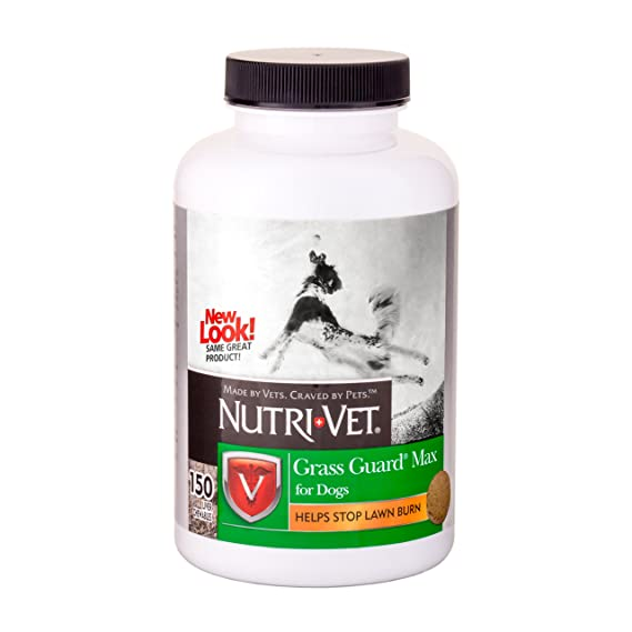 Nutri-Vet Grass Guard Max with Probiotics and Digestive ...