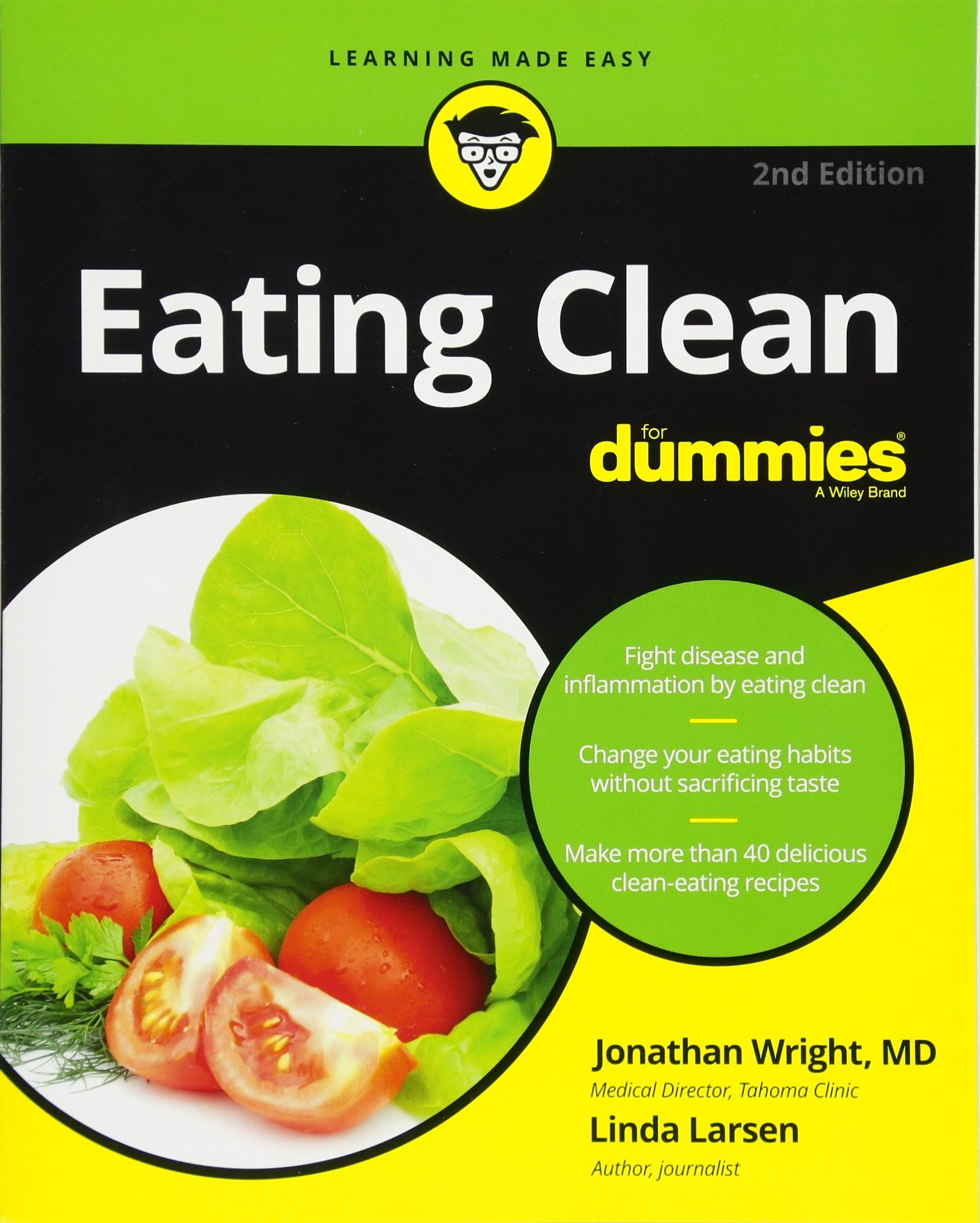 Eating Clean Dummies Jonathan Wright product image