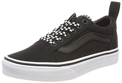 Vans Atwood, Unisex-Kinder Sneakers, Schwarz ((Canvas) Black/186), 30 EU