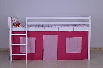 Etagenbett Kinder Jungs : Amazon.de: kosy koala etagenbett aus holz hochbett mit zelt unter