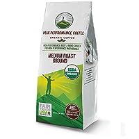 Peak Performance High Altitude Organic Coffee. No Pesticides, Fair Trade, Non GMO...