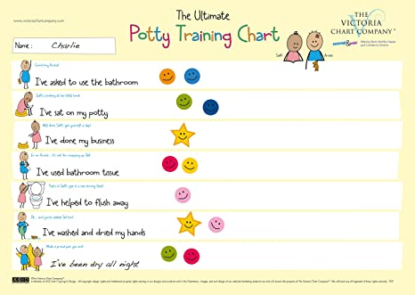 AmazonCom  The Ultimate Potty Training Reward Chart For  Yrs