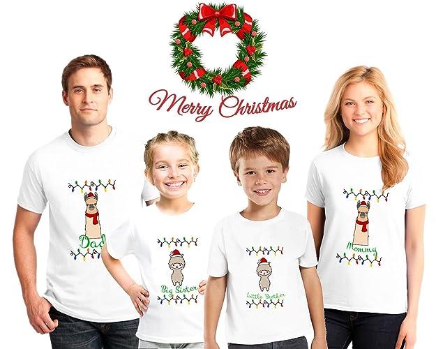 Llama Christmas Shirt.Amazon Com Llama Family Christmas Pajama Matching Shirts