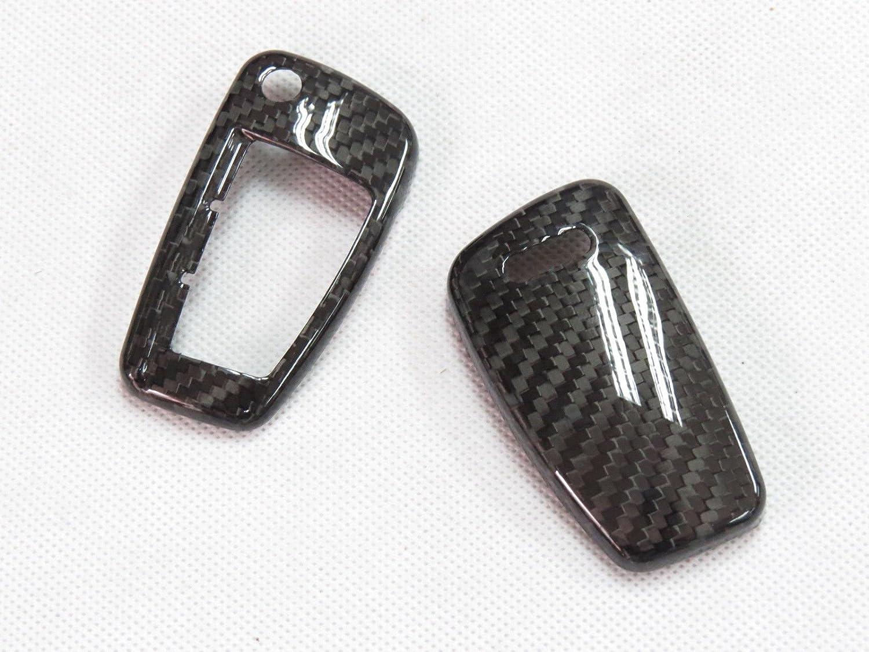 Carbon Fiber Remote Flip Key Cover Case Shell for Audi A1 A3 A4 A5 A6 TT