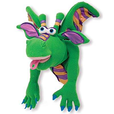 Melissa & Doug Smoulder the Dragon Puppet: Melissa & Doug: Toys & Games