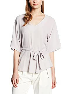 Womens Stripe Belted Top New Look