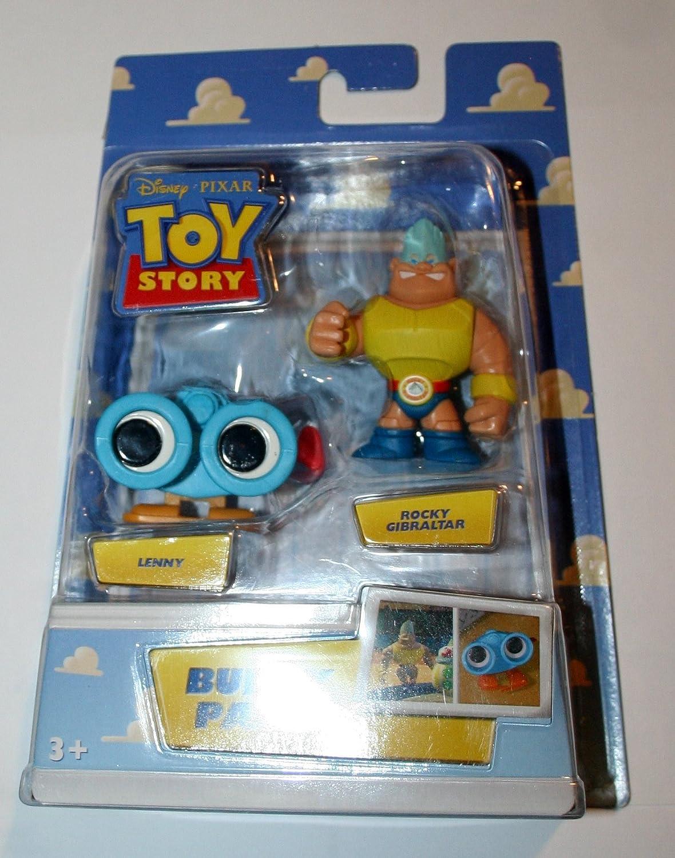 Mattel Toy Story p6824 – Figura de Science Fiction – Rocky Gibraltar Lenny Buddy Pack: Amazon.es: Juguetes y juegos