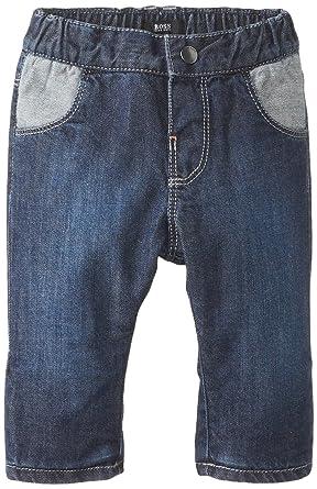Amazon.com  Hugo Boss Baby Baby Boys  Soft Denim Trousers 387a136f0582