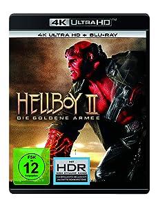 Hellboy II: Die Goldene Armee (4K Ultra HD) (+ Blu-ray 2D) [2008]