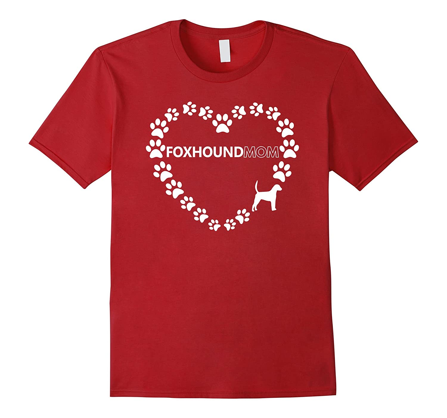 Foxhound Mom Women's Dog Gift T-Shirt