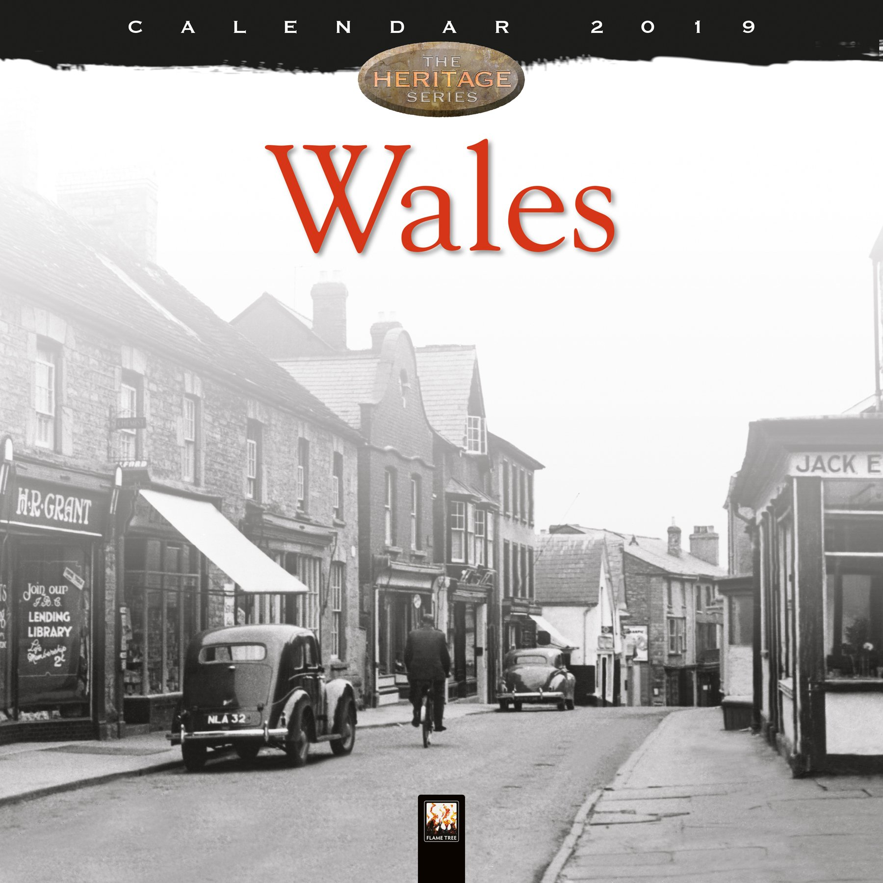 wales heritage wall calendar 2019 art calendar