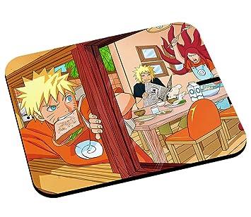 Alfombrilla de ratón Naruto con sus padres un Ninja Manga ...