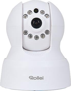Rollei SafetyCam 10 HD - Cámara de vigilancia para interior (720p HD, visión nocturna