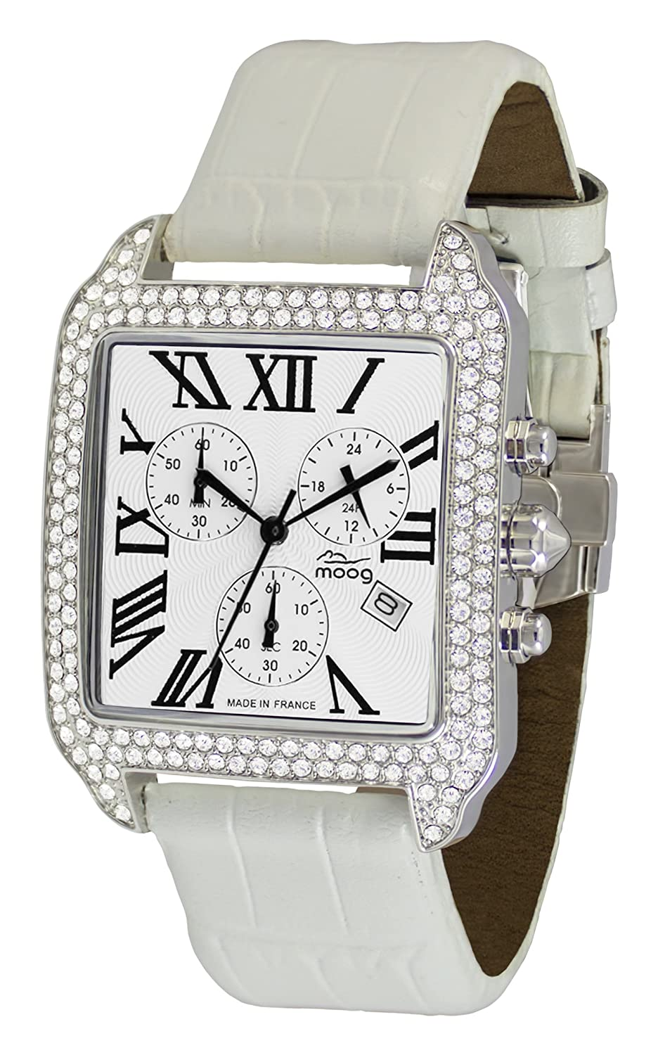 Paris Reloj Con Blanca Different Para Mujer Esfera Think Moog cLqS4Aj3R5