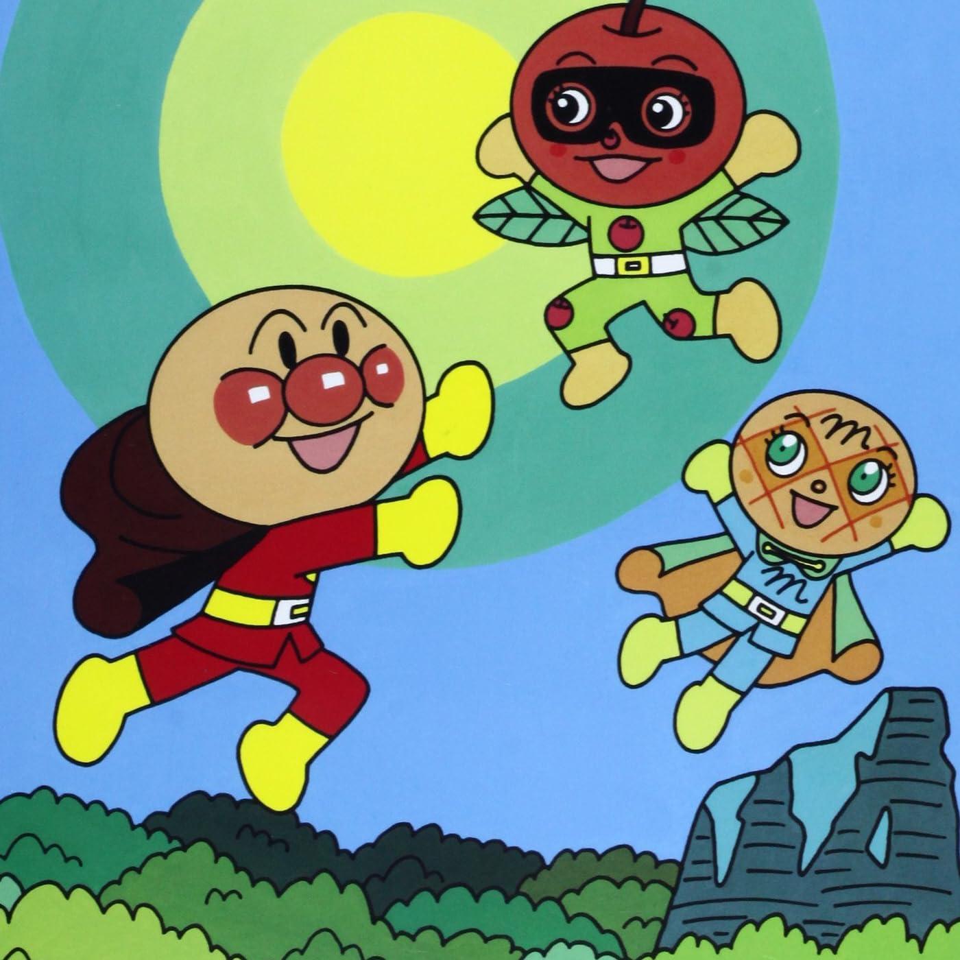 アンパンマン Ipad壁紙 アンパンマンとリンゴぼうや アニメ スマホ用画像