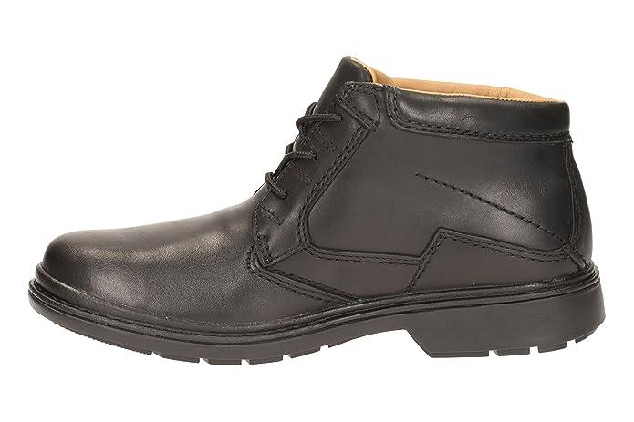 8b83277b4d442 Clarks Rockie Hi Men's Lace-Up Shoes: Amazon.co.uk: Shoes & Bags