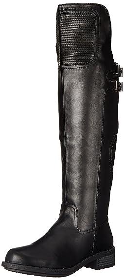 Qupid Women's Relax 137 Motorcycle Boot, Black, ...