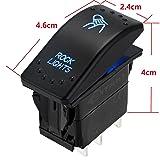 DITRIO Laser LED Light Bar Fog Push Button Rocker