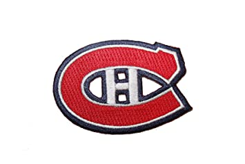 Montreal Canadiens  X 5 Cm Nhl Hockey Logo Embroidered Iron