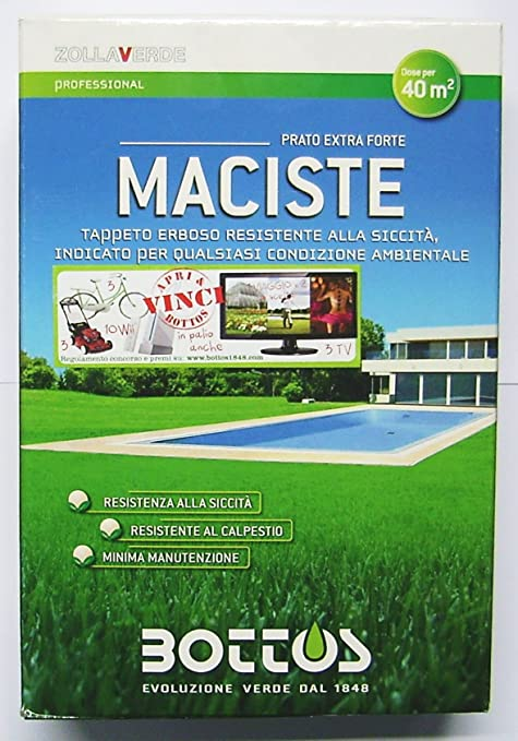 30 opinioni per Maciste- Sementi per tappeto erboso- Ideale per zone aride- 1 Kg