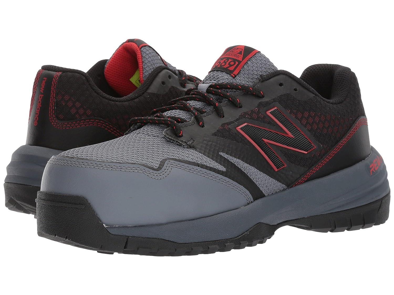 (ニューバランス) New Balance メンズランニングシューズスニーカー靴 589v1 Black/Red ブラック/レッド 14 (32cm) 4E B0789F8HMB