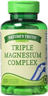 Natures Truth 400 mg Magnesium Triple Complex Supplement, 100 Count