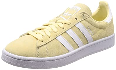 cheap for discount 7d1d0 ab562 Image Unavailable. Image not available for. Color adidas Originals Campus  Mens Sneakers, Size 11 Yellow
