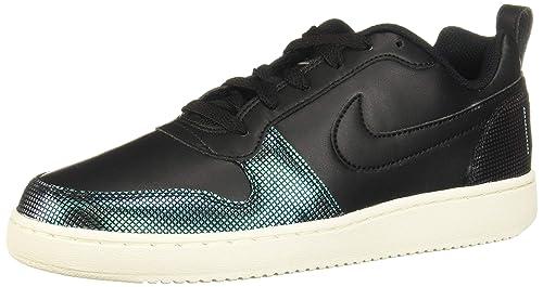 online store 0a0e2 581e0 Nike Court - Zapatillas Bajas Mujer Negro Talla 37M: Amazon.es: Zapatos y  complementos