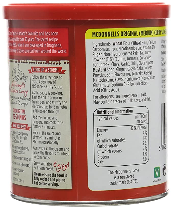 Mc Donnells Curry Sauce 250 G Pack Of 3