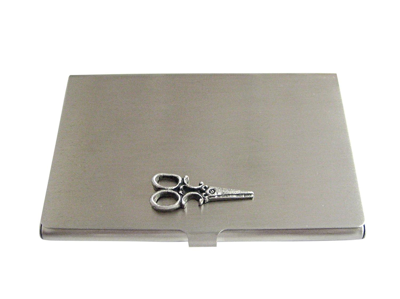 Textured Scissorビジネスカードホルダー   B01ISSE484