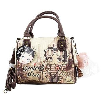 BETTY BOOP Streets Damen Handtasche Zwei Griffe Farbe